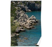Anthony Quinn Bay, Rhodes Poster