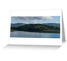 Cardinia Dam Series part 1 Greeting Card