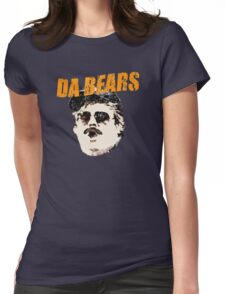 Retro Da Bears Parody Womens Fitted T-Shirt