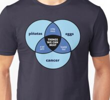 We Can Beat It | Funny Motivational Cancer Diagram Unisex T-Shirt