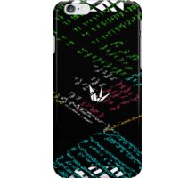 digital abstract iPhone Case/Skin
