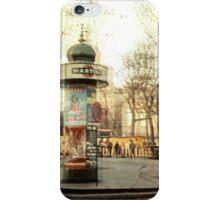 Vintage Pigale i Phone Case iPhone Case/Skin