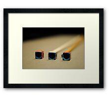 Just Chalk it Up (Pool Series) Framed Print