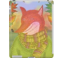 cozy autumn iPad Case/Skin