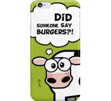 Burgers?! (Oops... I Pooped version 2) iPhone Case/Skin