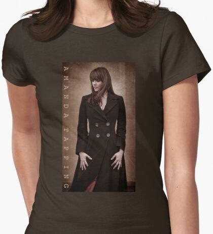 Amanda Tapping - The T-Shirt! Womens Fitted T-Shirt