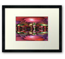 Taffyland Framed Print