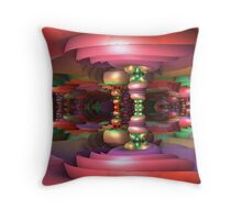 Taffyland Throw Pillow