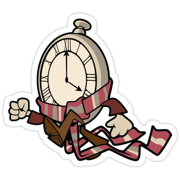 Fourth Doctor Watch Sticker by nikholmes
