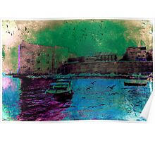 The Essence of Croatia - The Old Harbour at Dubrovnik Poster