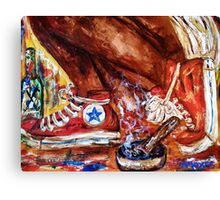 It's the weekend 4 Canvas Print