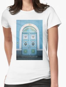 Banos Church Door Womens Fitted T-Shirt