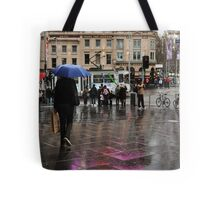catching a rainbow Tote Bag