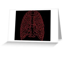 Ribs Greeting Card