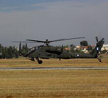 AH-64 Apache by Ikaros331