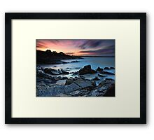 Cabarita Sunset Framed Print