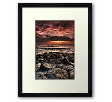 Sun Blessing Framed Print