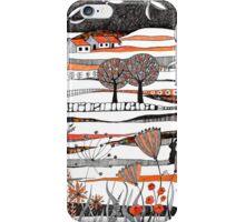 Through the autumn moors iPhone Case/Skin