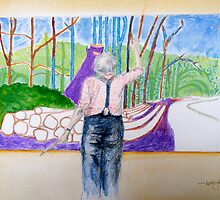 Hockney at Work by Lesley Rowe