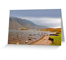 The Bleakness of Wast Water Greeting Card