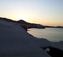 Milos - Sarakiniko Beach by chrisaK