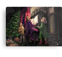 Christmas Sing Along Metal Print
