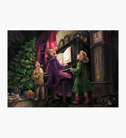 Christmas Sing Along Photographic Print