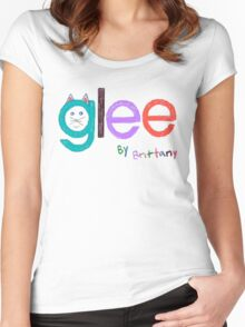 Glee by Brittany  Women's Fitted Scoop T-Shirt