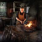 Blacksmith - Blacksmiths like it hot by Mike  Savad