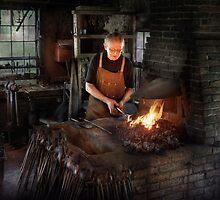Blacksmith - Blacksmiths like it hot by Mike  Savad