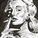 Jan Sterling, actress by Michael Birchmore