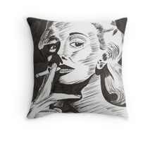 Jan Sterling, actress Throw Pillow