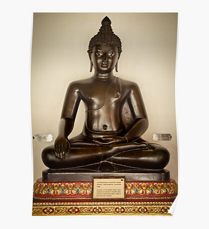 Buddha Image Poster