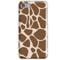 Giraffe Print Trendy iPhone Case iPhone Case/Skin