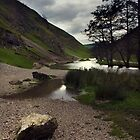 Dovedale, River Dove. by Darren Burroughs