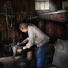 Blacksmith - Tinkering with metal  by Mike  Savad