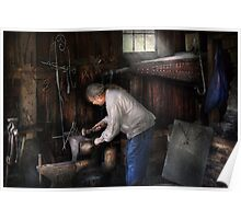 Blacksmith - Tinkering with metal  Poster