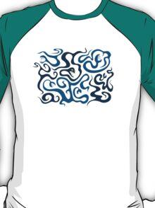 Evil Cartoon Snake In Love T-Shirt T-Shirt