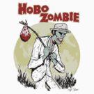 Dead Legs, Hobo Zombie by jkilpatrick