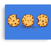 Cannibalism | Cute Cookie Canvas Print