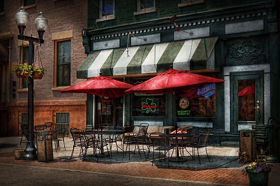 Cafe - Albany, NY - Mc Geary's Pub by Mike  Savad