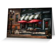 Cafe - Albany, NY - Mc Geary's Pub Greeting Card