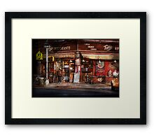Cafe - NY - Chelsea - Tello Ristorante Framed Print