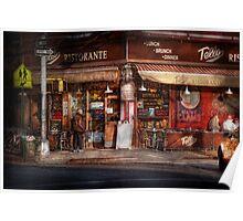 Cafe - NY - Chelsea - Tello Ristorante Poster