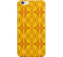 Yellow phone iPhone Case/Skin