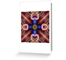 abstract canvas Greeting Card