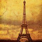 Eiffel Tower i Phone Case by pennyswork