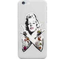 Punk Marilyn iPhone Case/Skin