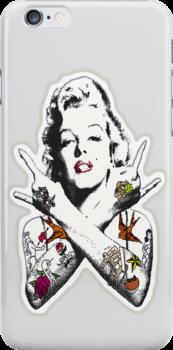 Punk Marilyn by Tiffany Garvey