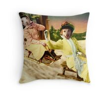 The Reckless Ladies Throw Pillow
